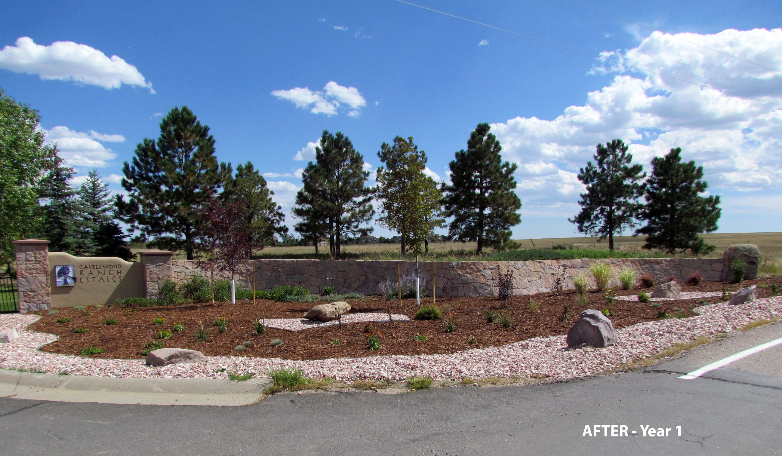 Castlewood Ranch HOA Smartscape_After